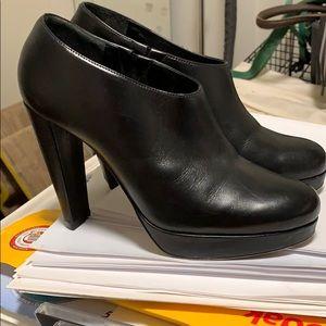 Cole Haan black booties